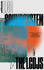 The Official LCD Soundsystem Afterparty – Wednesday 12/6 – The Barbary – Philadephia